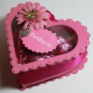 сердечко- коробочка