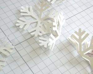 урок снежинка из бумаги