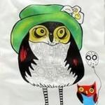 футболка-сова